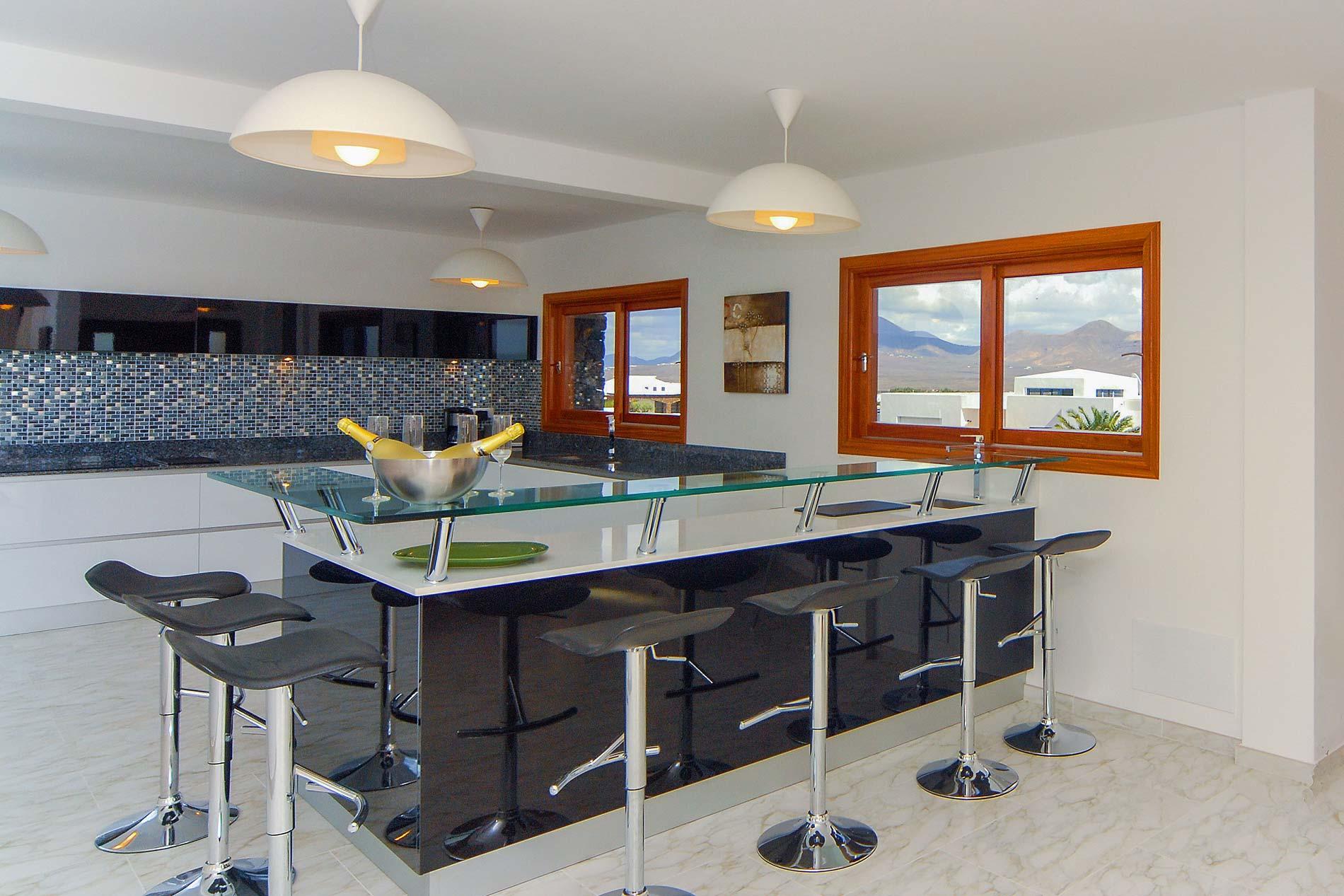 Villa Perdices in Playa Blanca - sleeps 14 people