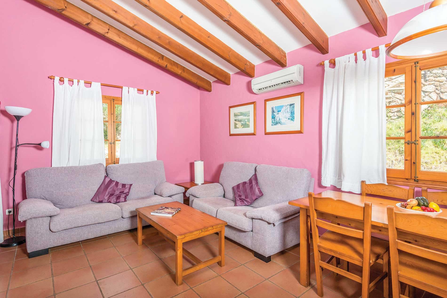 Villa Playas de Fornells in Fornells - sleeps 6 people
