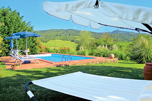 Villa Podere la Palla in Volterra, Pisa - sleeps 6 people