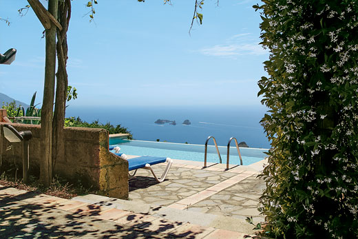 Villa Rafaela in Sant'Agata sui Due Golfi, Amalfi coast - sleeps 5 people