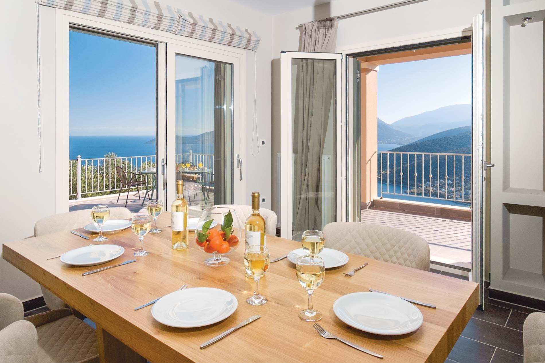 Villa Remvi in Agia Efimia - sleeps 6 people