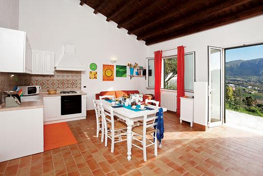 Villa Rosa dei Venti in Scopello, Sicily - sleeps 6 people