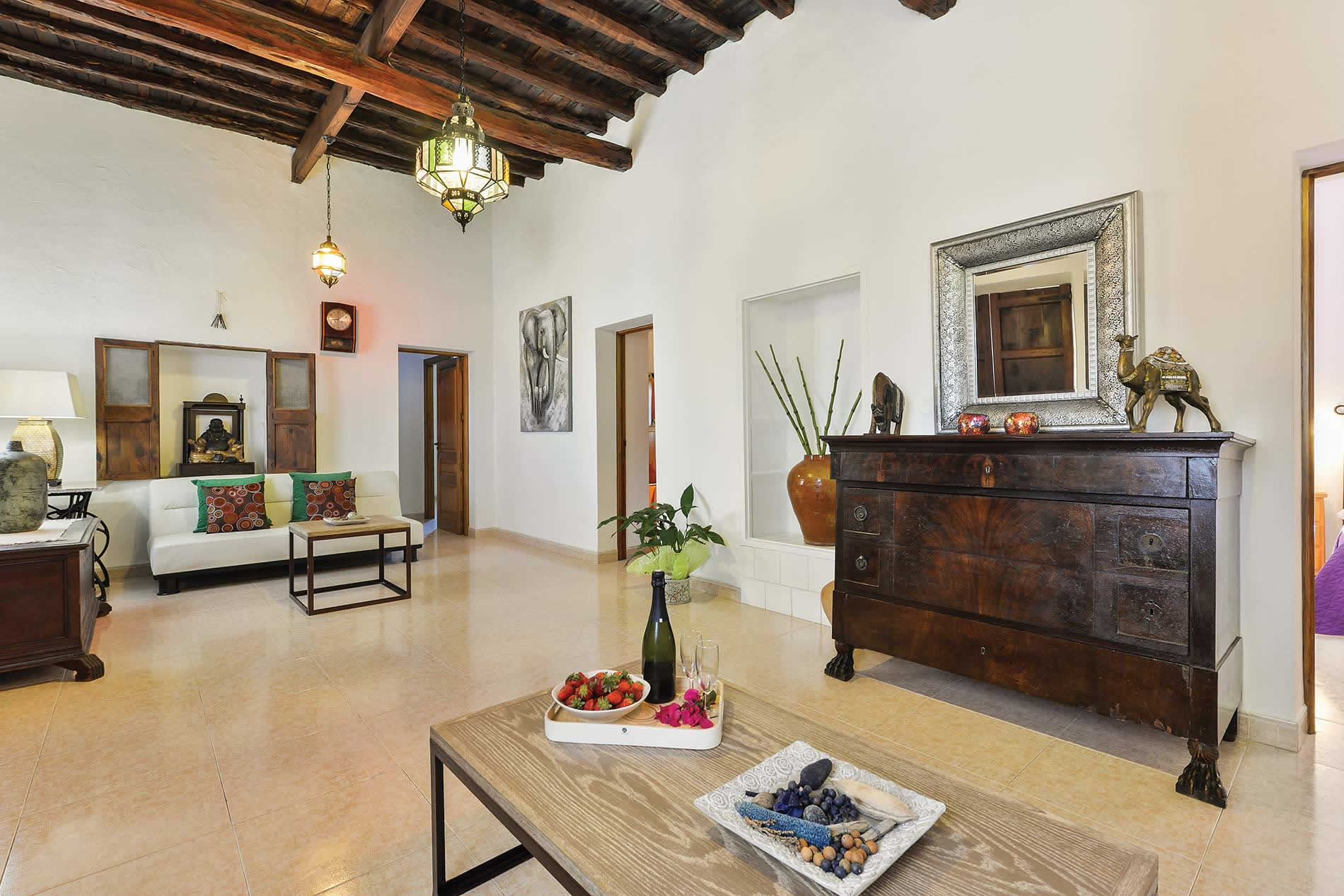Villa Sa Cuina in San Rafael - sleeps 8 people