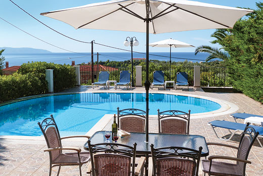 Villa Summer Dream in Trapezaki - sleeps 6 people