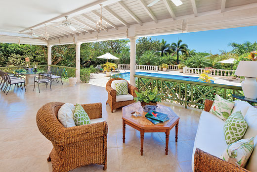 Villa Talula in Royal Westmoreland - sleeps 8 people