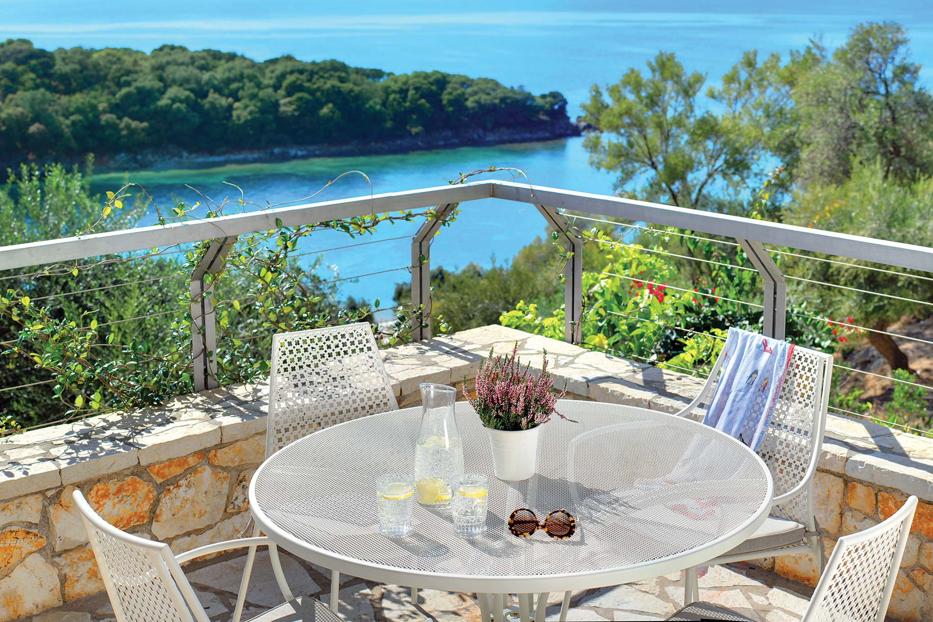 Villa Thalassa Escape in Sivota - sleeps 4 people
