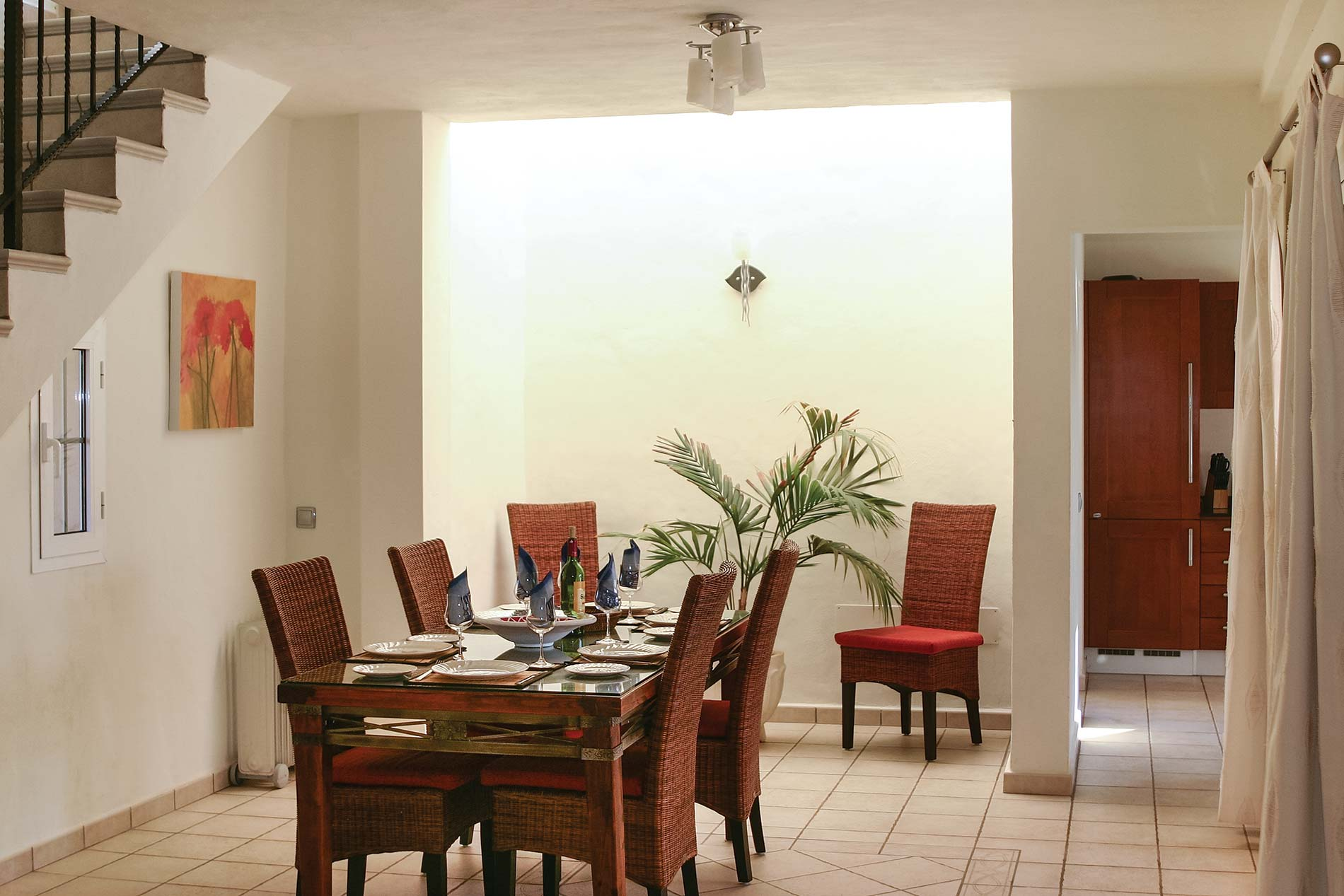 Villa Tranquila in Lajares - sleeps 8 people