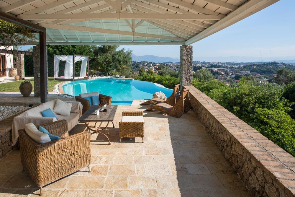 Villa Viros in Corfu - sleeps 6 people
