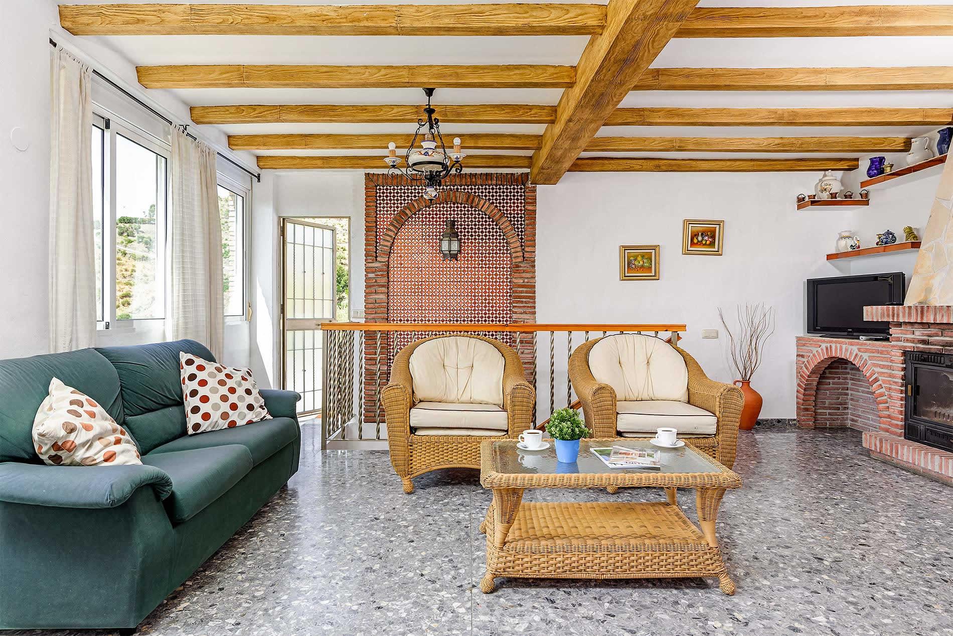 Villa Vista Azul in Frigiliana - sleeps 6 people