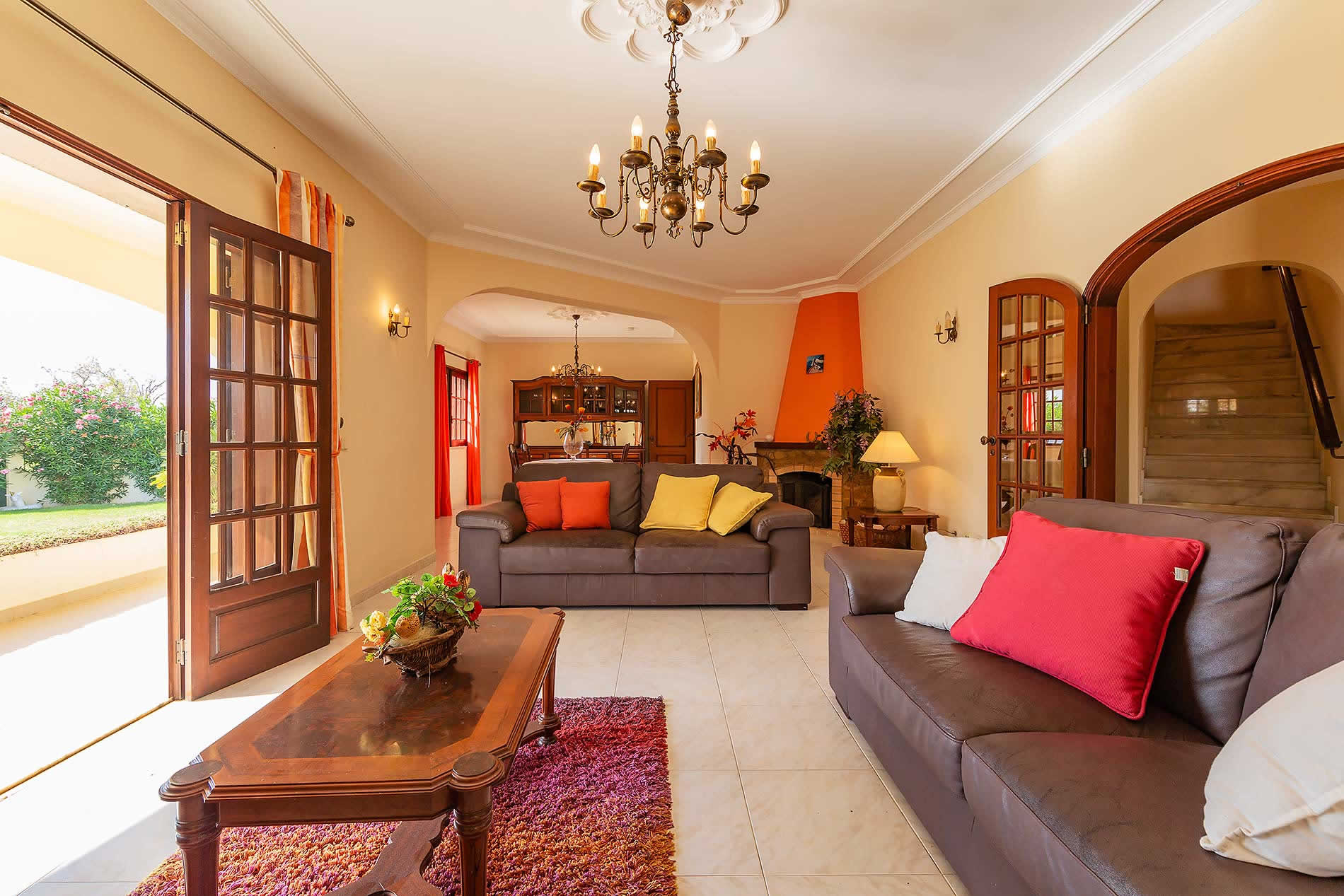 Villa Vivenda Vista Mar in Vale de Parra - sleeps 8 people