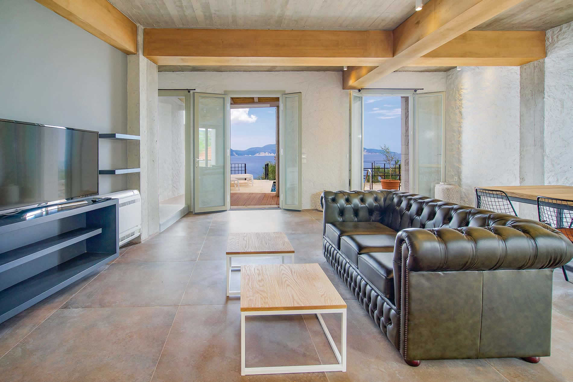 Villa Vivere in Assos - sleeps 6 people