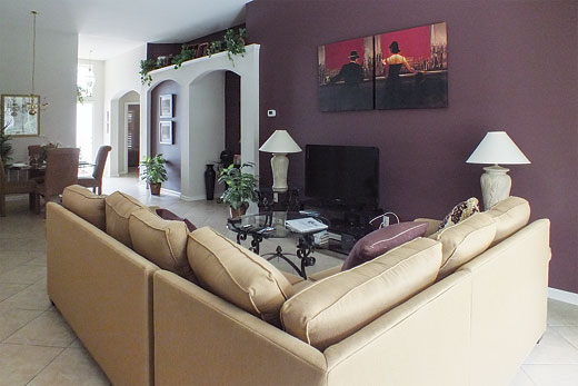 Villa Windsor Palms Executive VI in Windsor Palms, Disney Area and Kissimmee - sleeps 12 people